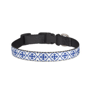 Moroccan Blue Pet Collar