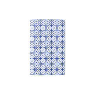 Moroccan Blue Pocket Moleskine Notebook