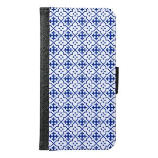 Moroccan Blue Samsung Galaxy S6 Wallet Case