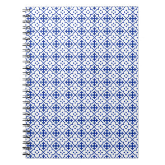Moroccan Blue Spiral Note Books