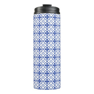 Moroccan Blue Thermal Tumbler