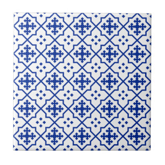 Moroccan Blue Tile