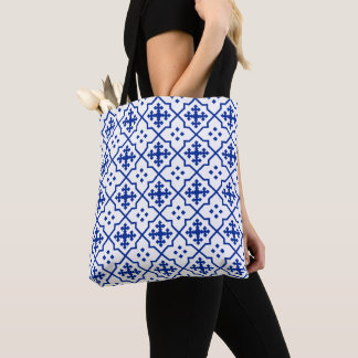 Moroccan Blue Tote Bag