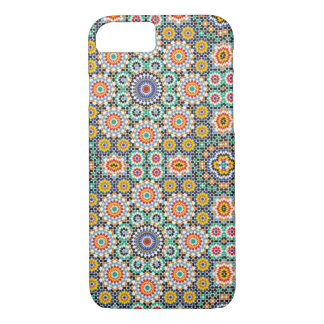 Moroccan ceramic pattern case for iPhone 7