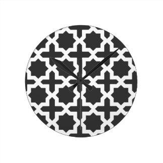 Moroccan Days Round Clock