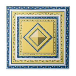 Moroccan Diamond Tile
