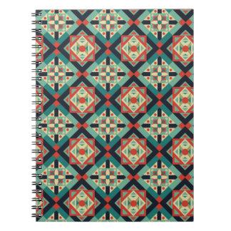 Moroccan Geometric Culture 1 Spiral Notebooks