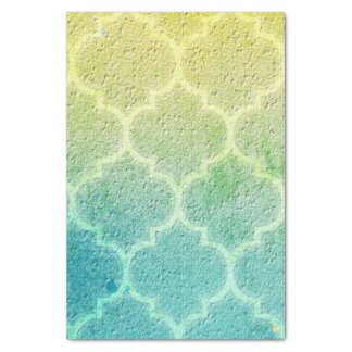 Moroccan Inspired Colorful Pattern Tissue Paper