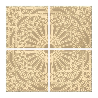 Moroccan Mosaic | Customizable Canvas