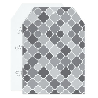 Moroccan pattern card