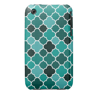 Moroccan pattern Case-Mate iPhone 3 cases