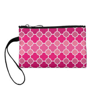 Moroccan pattern coin wallets