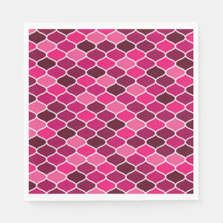 Moroccan pattern disposable napkin