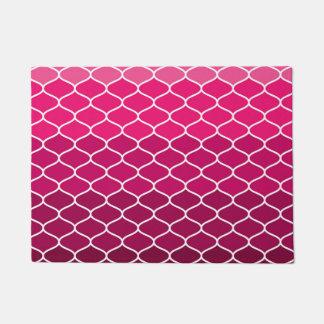 Moroccan pattern doormat
