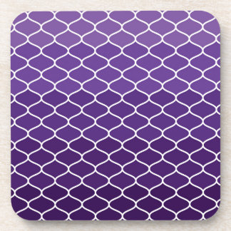 Moroccan pattern drink coasters