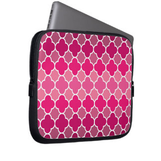 Moroccan pattern laptop sleeve