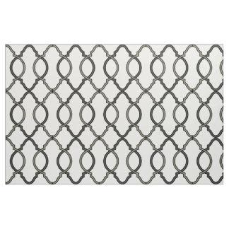 Moroccan Pattern Lattice Geometric Design Fabric