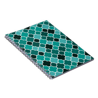 Moroccan pattern note books