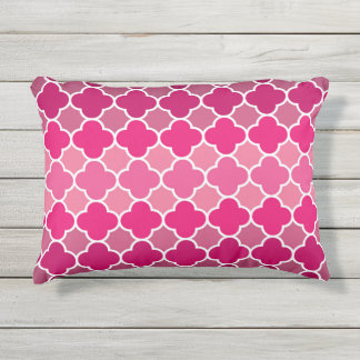 Moroccan pattern outdoor pillow