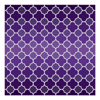 Moroccan pattern perfect poster