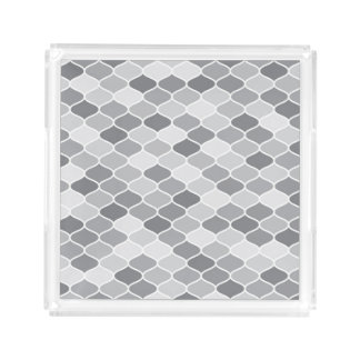 Moroccan pattern perfume tray