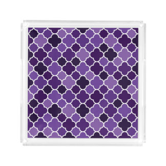 Moroccan pattern perfume tray