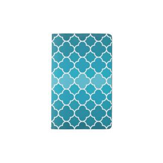 Moroccan pattern pocket moleskine notebook