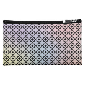 Moroccan Pattern Tie Dye Makeup Bag