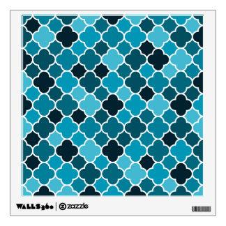 Moroccan pattern wall sticker