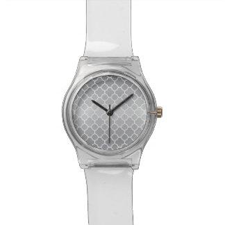 Moroccan pattern wrist watches