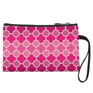 Moroccan pattern wristlet clutches