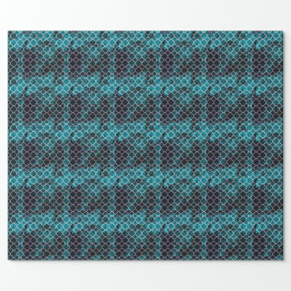 Moroccan Pixilated Grunge Wrapping Paper
