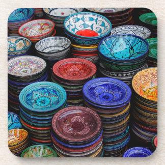 Moroccan Plates At Market Coaster
