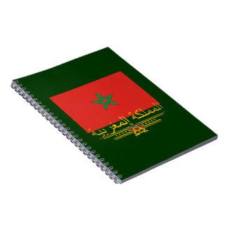 """""""Moroccan Pride 2"""" Spiral Note Book"""