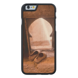 Moroccan Shoes At Window Carved Maple iPhone 6 Case