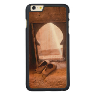 Moroccan Shoes At Window Carved Maple iPhone 6 Plus Case