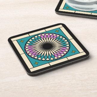 Moroccan Spiral Pattern Coaster