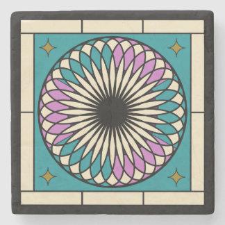 Moroccan Spiral Pattern Stone Coaster