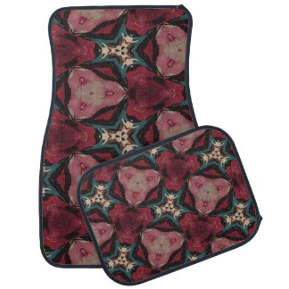 Moroccan Stylish Pattern Set of 4 Car Mats