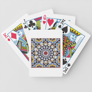 Moroccan Tile Bicycle Playing Cards