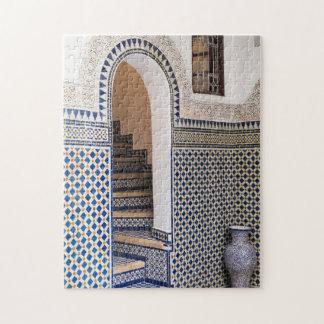Moroccan Tiled Doorway Jigsaw Puzzle