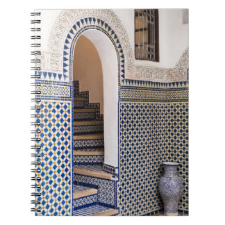 Moroccan Tiled Doorway Notebook