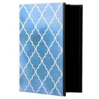 Moroccan Tiles, Latticework, Watercolors - Blue Powis iPad Air 2 Case