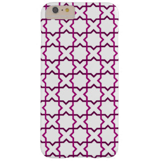 Moroccan weave pattern barely there iPhone 6 plus case