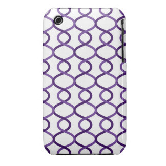 Moroccan weave pattern Case-Mate iPhone 3 cases
