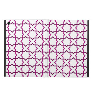 Moroccan weave pattern iPad air case