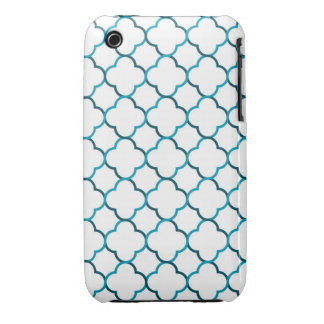 Moroccan weave pattern iPhone 3 Case-Mate cases