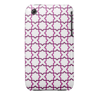Moroccan weave pattern iPhone 3 cover