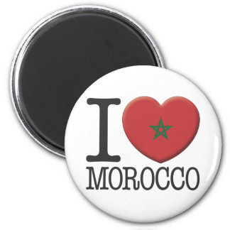 Morocco 2 Inch Round Magnet
