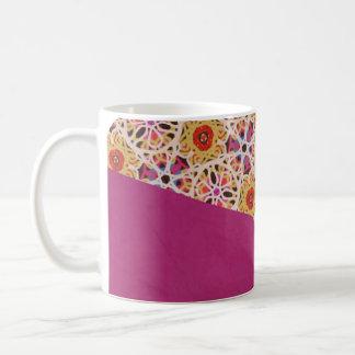 Morocco and Fuchsia Mug by KCS